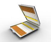 Cigarette case — Stock Photo