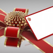 Stock Photo: Gift ribbon