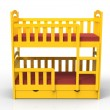 Bunk bed — Stock Photo