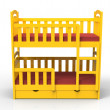 Bunk bed — Stockfoto