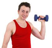 Exercise man — Stock Photo