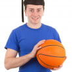 Sports graduate — Stock Photo