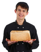 Bread baker — Stock Photo