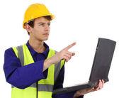 Engenheiro de computação — Foto Stock