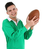 Jugador de rugby — Foto de Stock