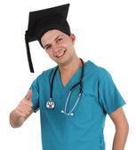 Graduate doctor — Stockfoto