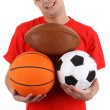 Sports player — Stockfoto #9587704