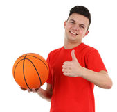 Basketball player — Foto Stock