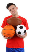 Sports player — Foto Stock