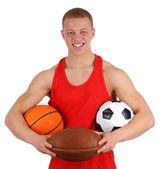 Sports guy — Stock Photo