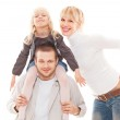 Young family together — Stock Photo #10130997