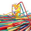 Stock Photo: Drinking straws