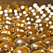 Shinny glass balls — Stock Photo