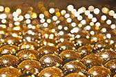 Shinny glass balls — Stock Photo