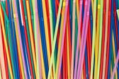 Plastic straw — Stock Photo