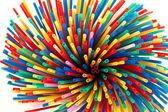 Party straws — Stock Photo