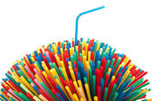 Party straw — Stock Photo