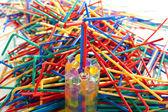 Messy plastic bulk — Stock Photo