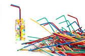 Coloured plastics — Stock Photo