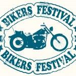 Bikers festival stamp — Stock Vector #8518051