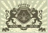 一族の紋章 — ストックベクタ