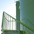 Wind turbine tower — Stock Photo