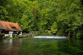 Old hammermill, Blaubeuren, Germany — Stock Photo