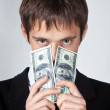 Royalty-Free Stock Photo: Man and money.