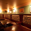 Irish pub. interior with artificial light — Stock Photo