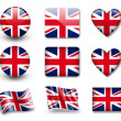 Stock Photo: The British flag