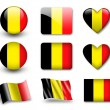 The Belgian flag — Stock Photo #8968822