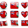 The Bermuda Islands flag — Stock Photo #8968858