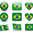 Stock Photo: The Brazilian flag