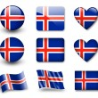 The Icelandic flag — Stock Photo #8969359