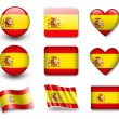 Spanish flag — Stock Photo #8969371