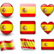 Stock Photo: Spanish flag