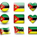 The Mozambique flag — Stock Photo #9020064
