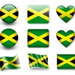 The Jamaica flag — Stock Photo #9020095