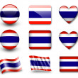The Thai flag -  