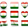 The Tajik flag - 