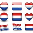 Stock Photo: The Netherlands flag
