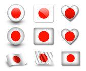 Le drapeau du japon — Photo