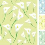 Light calla backgrounds — Stock Vector #10442569