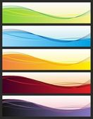 Abstracte banners — Stockvector