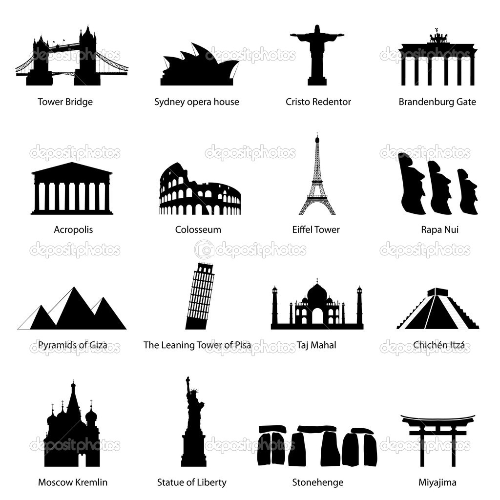 туризм пиктограммы: