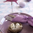 Easter brunch — Stock Photo