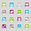 Web icons Part 1 — Stock Vector