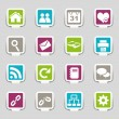 Stock Vector: Web icons Part 1