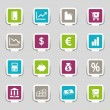Royalty-Free Stock Vector Image: 16 Internet Icons Money Part 3
