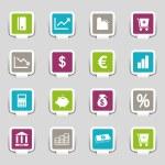 16 Internet Icons Money Part 3 — Stock Vector